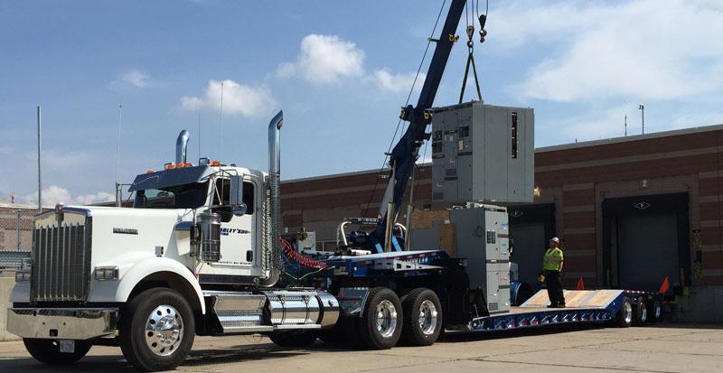 heavy duty towing equipment hauling