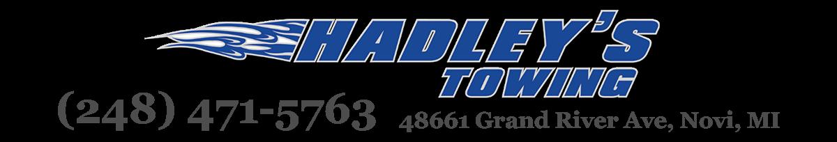Hadley's Towing logo
